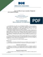 ORDEN 18-01-2000 Reglamento Despacho de Buques