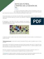 EL ENTRENAMIENTO EN FÚTBOL.pdf