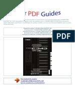 Manual Do Usuário YAMAHA PSR E343 YPT 340 P