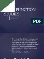 Liver Function Studies