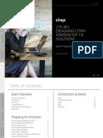 1Y0-401 Designing Citrix XenDesktop 7.6 Solutions v02