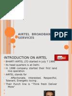 Airtel Broadband Presentation