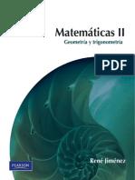 Matemáticas II Geometría y Trigonometría 2ed - René Jiménez