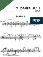 A. R. Pipό - Canciόn y Danza