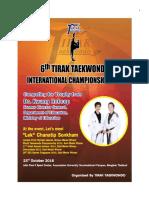 6th Tirak Taekwondo International Championship 2016