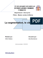 Lasegmentationleciblageetlepositionnement.docx