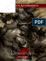 Dragon Age RPG - Guia Dos Adversários - Biblioteca Élfica