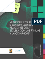 EDUCACION_ComprenderMejorarEducSec-RelacionesEscuelaFamiliasComunidad