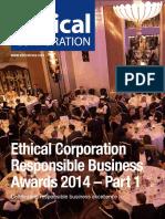 Ec Awards Winners 2014 Part 1