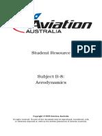 B-8 Aerodynamics SR