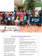 African Centre for Media Excellence Annual Report 2015