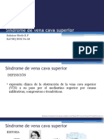 Síndrome de Vena Cava superior y neutropenia febril