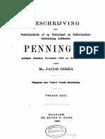 Beschrijving der Nederlandsche of op Nederland en Nederlanders betrekking hebbende penningen, geslagen tusschen November 1813 en November 1863. Dl. II / door Jacob Dirks