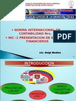 6284472 NIC 1 Presentacion de Estados Financieros