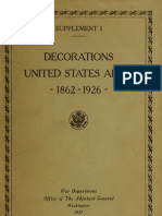 (1937) American Decorations (Number 1)