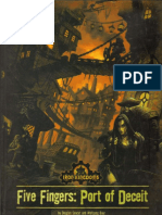 D&D 3rd Ed.-iron Kingdoms-Five Fingers-Port of Deceit