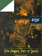 D&D 3rd Ed.-iron Kingdoms-Five Fingers-Port of Deceit