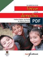 Pol. de Parti. Social. Decreto 530-2010