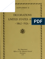 (1937) American Decorations (Number 2)