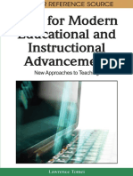 ICTs for Modern Educational and Instructional Advancement New Approaches to Teaching