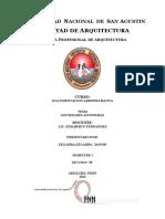 Escuela Profesional de Arquitectura