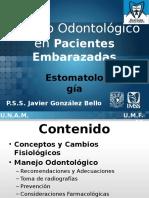 tratamiento odontología en pacientes embarazadas-120917215925-phpapp02