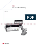 keysight 34970 Technical Overview