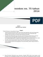 Permenkes 75