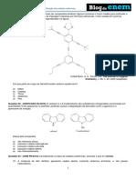 Química – Orgânica Classificação Das Cadeias Carbônicas.
