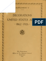 (1937) American Decorations (Number 5)