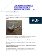 Como Fazer Um Suplemento Barato de Cálcio à Base de Cascas de Ovos