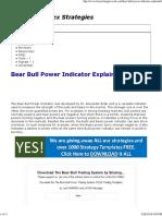 Bear Bull Power Indicator Explained