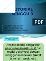 Tutorial Minggu 9