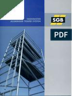 SGB Taskmaster Aluminium Tower