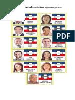 Lista de Diputados Electos Diputados Por San Salvador