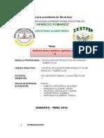 Informe de Acidez de Galleta