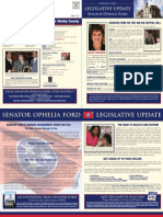 Sen. Ophelia Ford's Winter 2009 Legislative Update