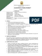 Gestion de Proyectos Informaticos 2015 I