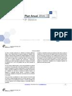 Planificacion Anual Matematica 8Basico 2016