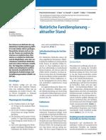 Planificación Natural de la Familia - Revisión (Alemán)