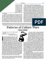 Di Leonardo, Micaela, Patterns of Culture Wars,