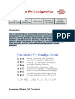 Transistor Pin Configuration