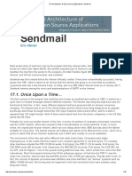 The Architecture of Open Source Applications_ Sendmail