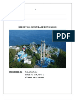 Report on ocean Park