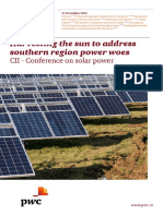 Harvesting the Sun to Address Southern Region Power