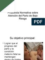 ATENCION DEL PARTO BAJO RIESGO.ppt