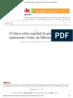 10 Datos Sobre Equidad de Género Del Suplemento Todas, De Milenio Diario _ ExpokNews