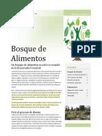 Artículo Bosques de Alimento
