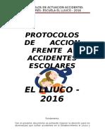 PROTOCOLOS ACCIDENTES 2016
