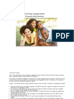 FAQ Family Sign Language